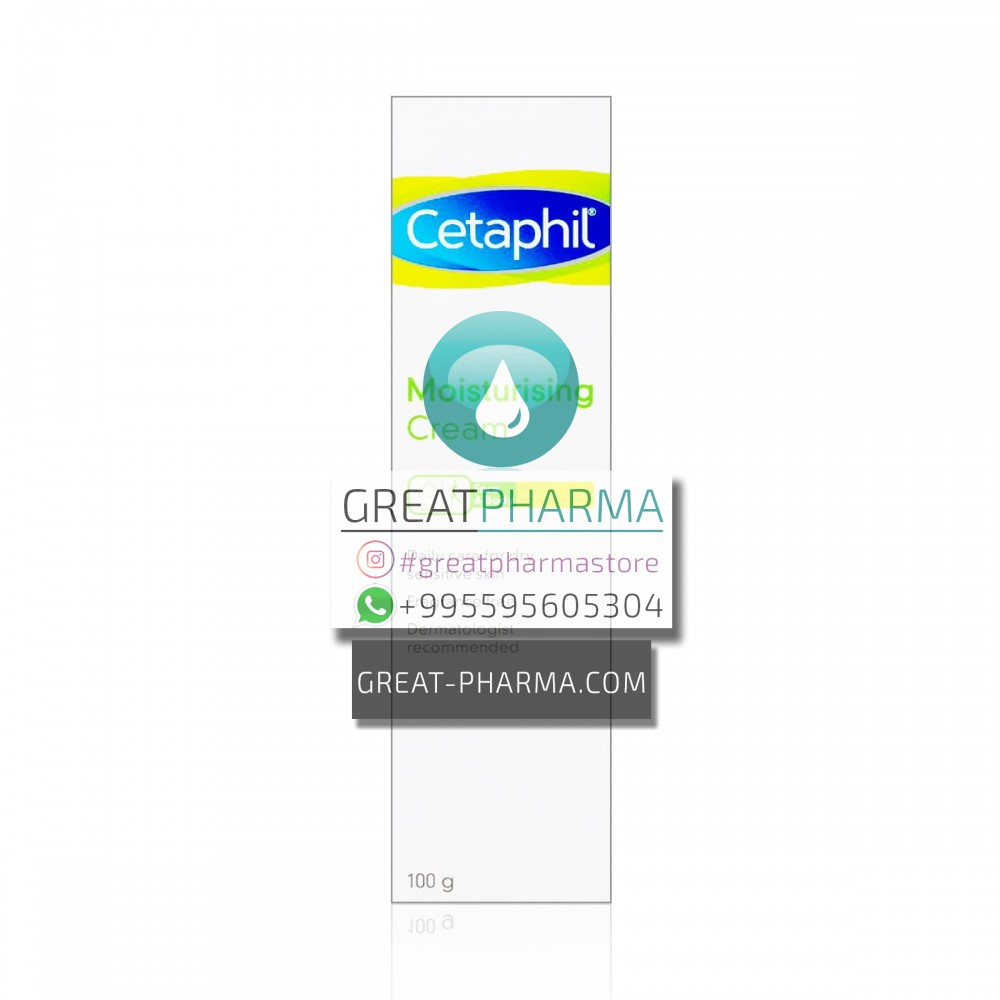 CETAPHIL MOISTURIZING CREAM FOR SENSITIVE AND DRY SKIN | 100g/3.53oz