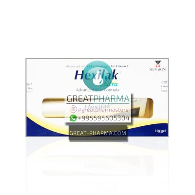 HEXILAK ULTRA GEL FOR SCARS (WITH PEPTIDES & CERAMIDE) | 10g/0.35oz
