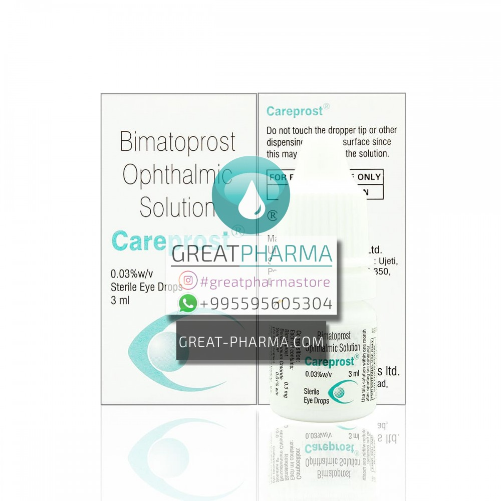 CAREPROST BIMATOPROST 0.03% FOR EYELASHES | 3ml/0.10 fl oz