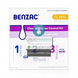BENZAC ACNE CONTROL KIT 3 IN 1