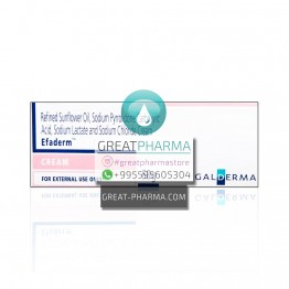 EFADERM MOISTURIZING CREAM | 60g/2.12oz