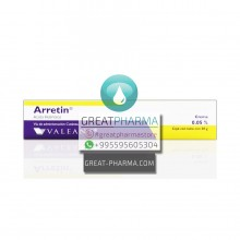 ARRETIN 0.05% CREAM | 30g/1.06oz
