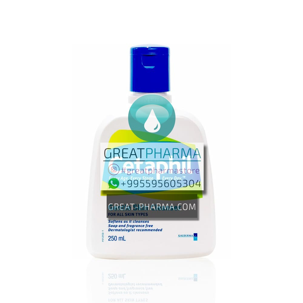 CETAPHIL CLEANSER FOR ALL SKIN TYPES | 250ml/8.45 fl oz