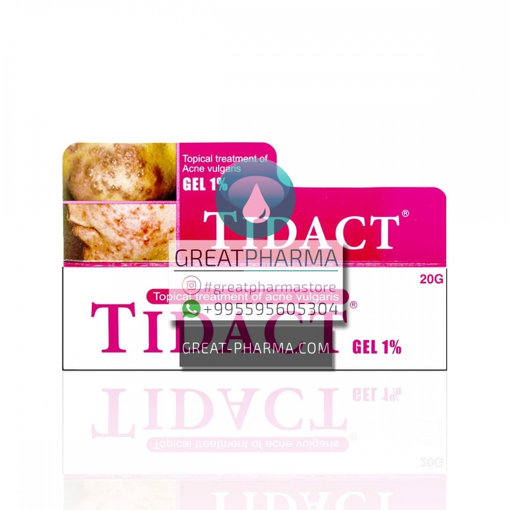 TIDACT (CLINDAMYCIN PHOSPHATE 1%) GEL | 20g/0.71oz