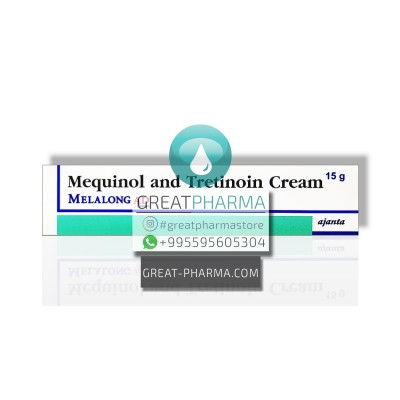 MELALONG AD (SOLAGE ANALOGUE) MEQUINOL 2% / TRETINOIN 0.025% ANTI-PIGMENTATION CREAM | 15g/0.53oz